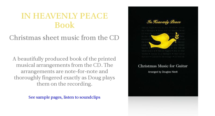 In Heavenly Peace Music Book