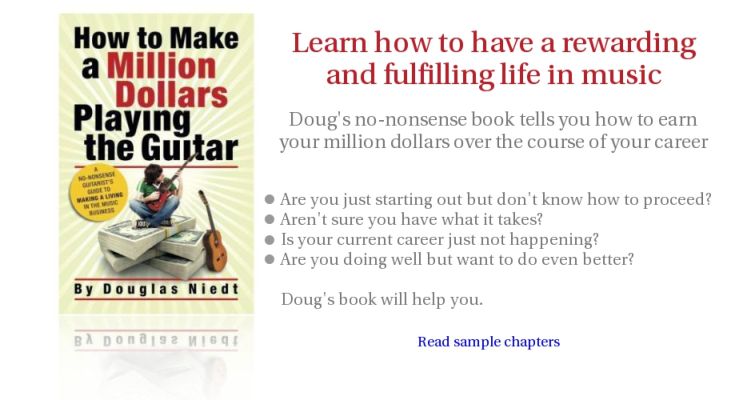 Million Dollar Guitarist Book