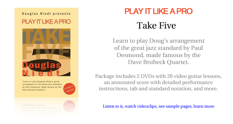 Take Five Play It Like a Pro