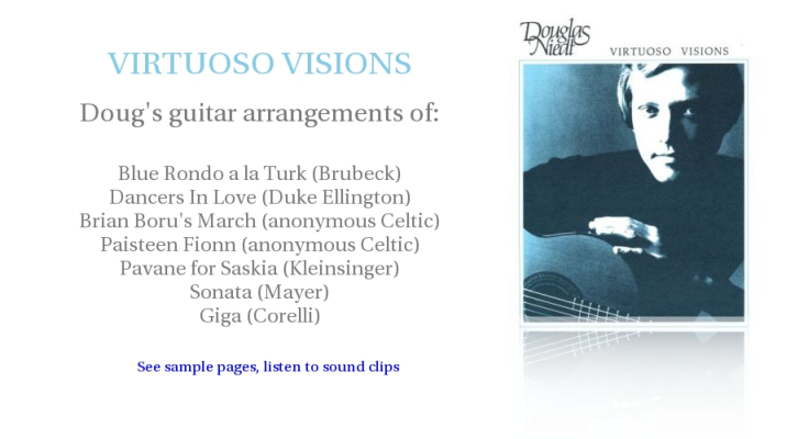 Virtuoso Visions Music Folio