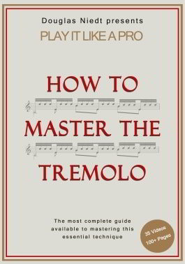 How to Master the Tremolo classical guitar lesson
