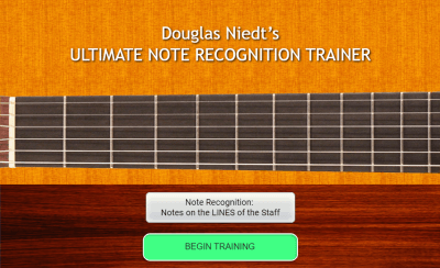 Ultimate Note Recognition Trainer