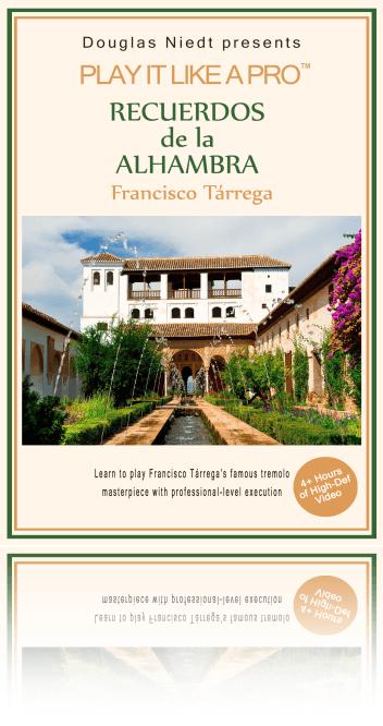 How to Play Recuerdos de la Alhambra on Classical Guitar Cover
