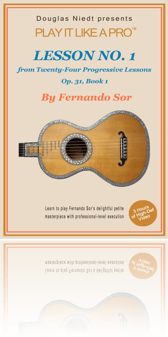 Cover, Sor Lesson #1