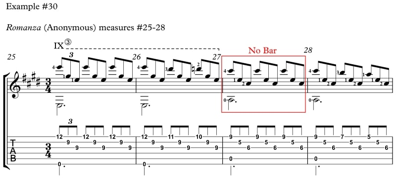Example 30 How to Reach Difficult Stretches and Nasty Chords