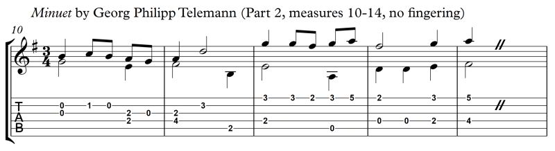 Principle_of_LH_Fingering_Minuet_Telemann_Part_2_m10-14_no_fingering