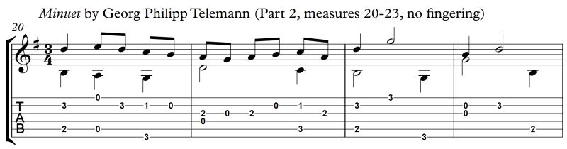 Principle_of_LH_Fingering_Minuet_Telemann_Part_2_m20-23_no_fingering