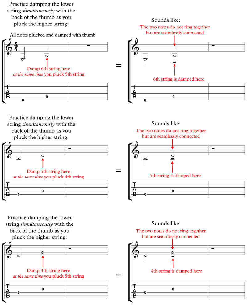 Open String Exercises
