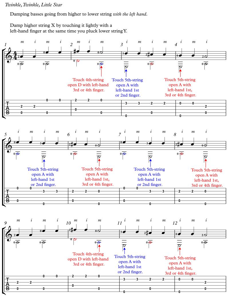Twinkle LH String DampsComplete