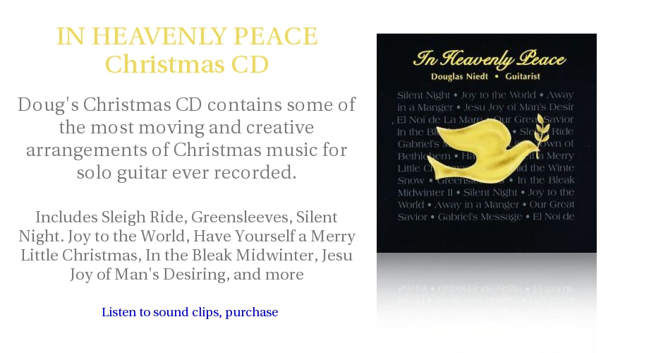 Douglas Niedt IN HEAVENLY PEACE CD