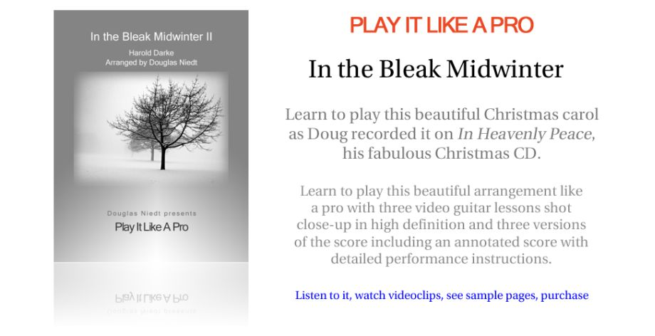 Play It Like a Pro--In the Bleak Midwinter II
