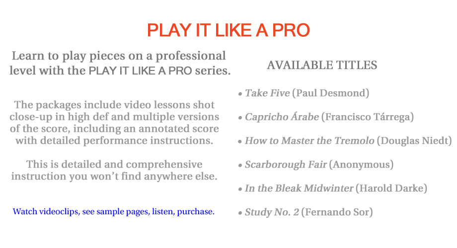 PLAY IT LIKE A PRO DVDs